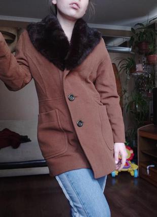 Очень стильное пальто