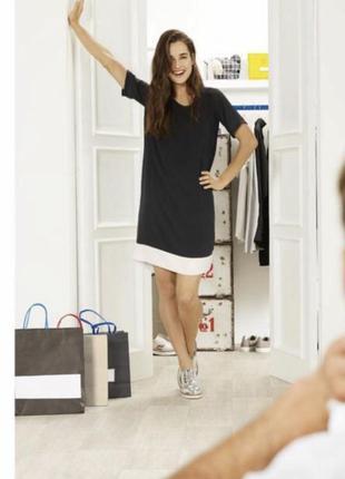 Классное шифоновое платье esmara