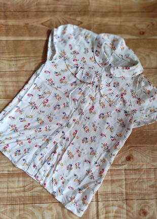 Блуза для девочки, размер 128-140