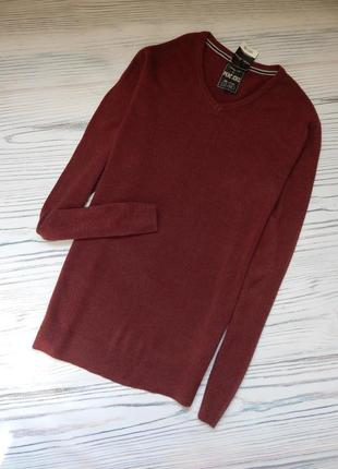 🌿шикарный мужской свитер, пуловер от peacocks. размер l🌿