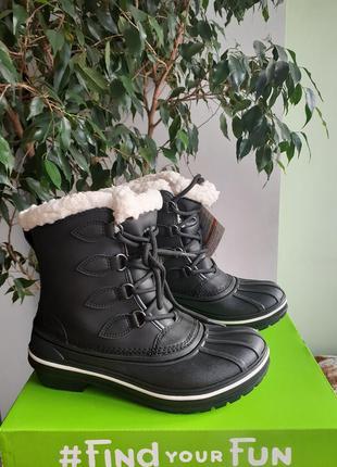 Crocs allcast ●23,5см● водонепроницаемые ботинки. зима-деми. о...