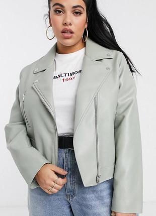 Байкерская куртка косуха asos большого размера