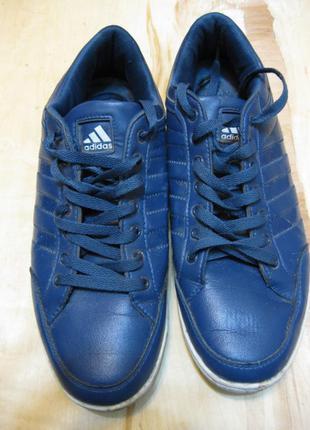 Синие кроссовки кеды adidas 41-41,5 размер стелька 27-27,5см