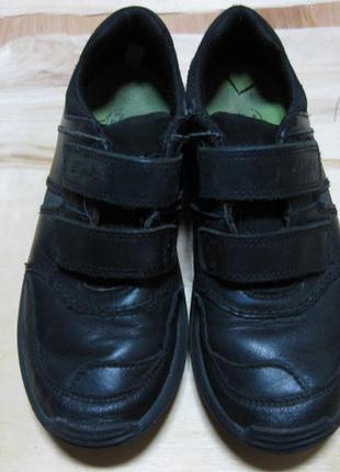 Детские кожаные кроссовки (кеды) clarks англия размер 35-36 (1...