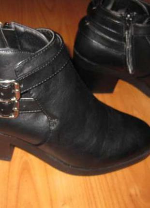 Зимние весенние ботинки на среднем каблуке atmosphere стелька ...