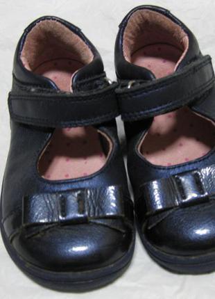 Кожаные туфли на девочку start-rite оригинал англия 22-23 разм...