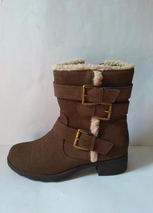 Высокие ботинки осень-зима рр 40 стелька 26см