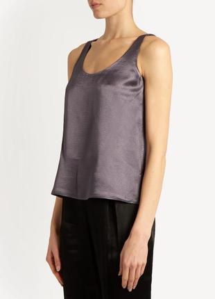 Pomodoro новая классическая блуза без рукавов 55% катон, 45% шелк