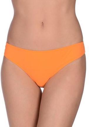 Новые неоновые оранжевые плавки от купальника
