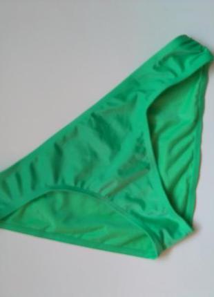 8-10 новые! зеленые плавки от купальника