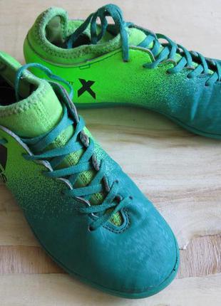 Футбольные сороконожки бутсы для зала adidas techfit ориг 34 р...