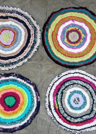 Новый круглый коврик ковер для ванны,кухни, комнаты, прихожей,...
