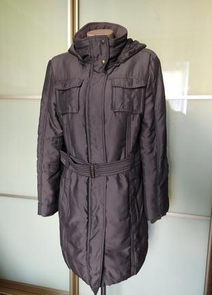 Тёплое женское пальто