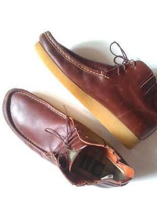 Nicholas deakins добротные кожаные ботинки челси туфли на плат...