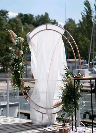 Железная круглая и квадратная арка/фотозона/Свадебная арка/прокат
