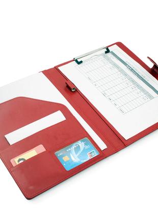Новая кожаная папка-клатч для бумаг и документов