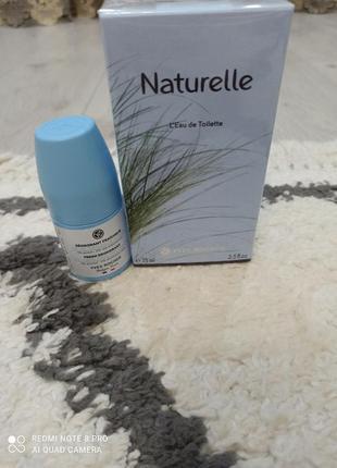Набор naturelle +дезодорант свежесть от yves rocher ❤️