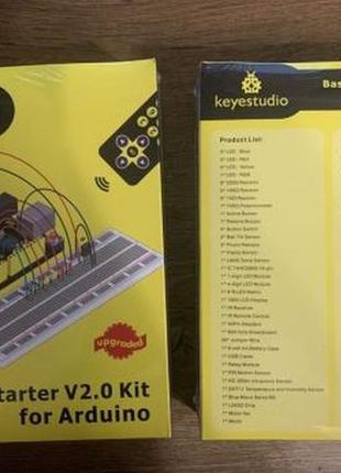 Стартовый набор Ардуино - Keyestudio Basic Arduino Starter Kit...