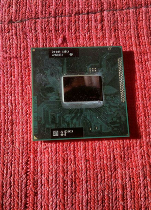 Intel core i5-2450m процессор для ноутбука сокет 988,989