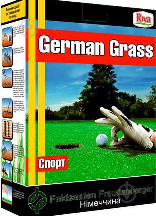 Семена German Grass газонная трава Спорт 1 кг
