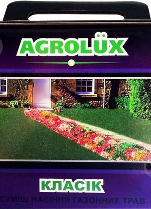 Семена Agrolux газонная трава Классик 1 кг
