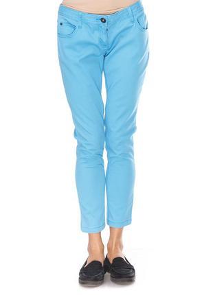 Женские голубые джинсы tom tailor