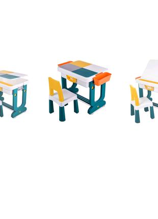 детский многофункциональный стол и стул