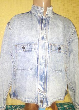 Джинсовая куртка,пиджак,жакет винтаж