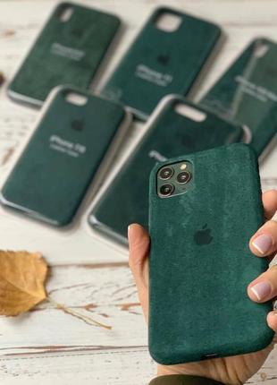 Алькантара alcantara чохол на айфон iphone