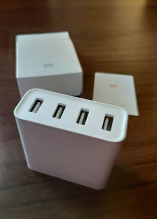 Сетевое зарядное устройство Xiaomi Mi Original 4 USB Port 7A