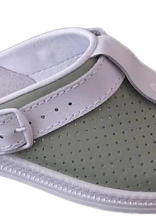 Женская медицинская кожаная обувь Код: 74-04-05