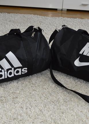 Сумка бочонок спортивная NIKE или Adidas для тренировок, зала
