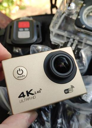 Action Camera F60R WiFi 4K с пультом ДУ SjCam GoPro