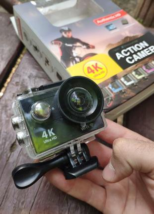 Экшн камера EKEN H8R 4K 1080P с пультом ДУ весь комплект