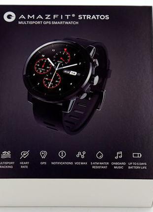 Смарт часы Xiaomi Amazfit Stratos 2 глобальная версия