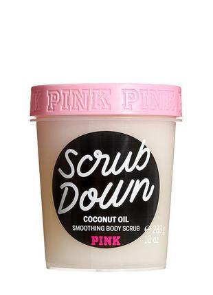 Разглаживающий скраб  для тела victoria's secret pink scrub do...