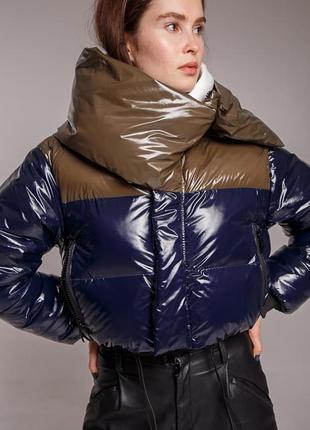 Куртка marani эксклюзив премиум укороченная автоледи  зимняя п...