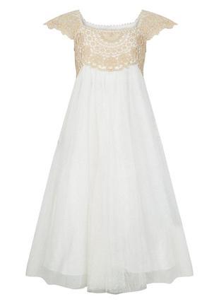 Платье нарядное монсун
