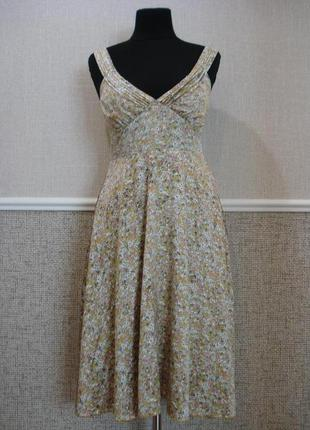 Платье с открытыми плечами летнее платье в стиле ретро бренд s...