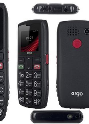 Мобильный телефон ERGO RESPECT F184 DUAL (бабушкофон) SIM на две