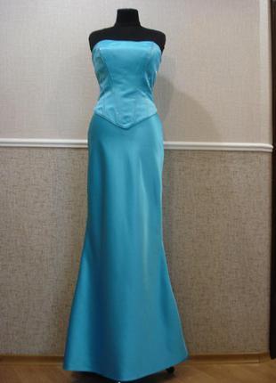 Вечернее платье выпускное платье свадебное платье рыбка