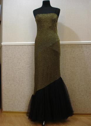 Вечернее винтажное платье в стиле ретро