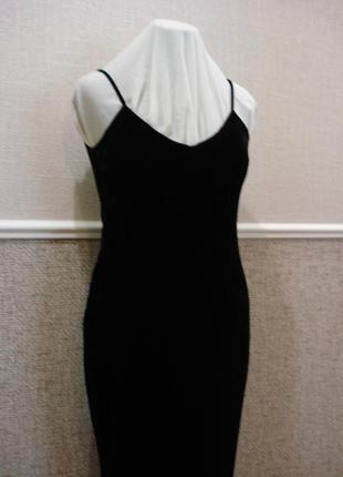 Вечернее велюровое облегающее платье бренд resourse