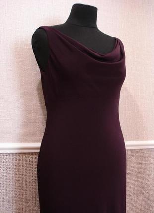 Вечернее облегающее платье в пол.