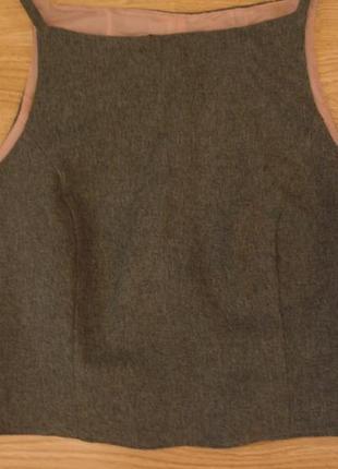 Жилетка безрукавка блузка без рукавов бренд claire ashton