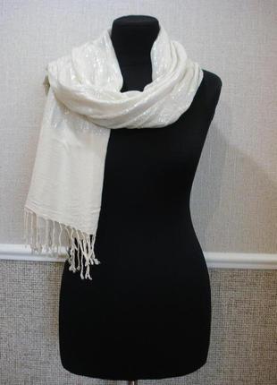 Шикарный палантин стильный весенний шарф бренд tierack