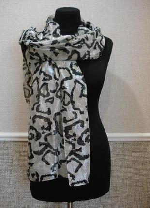 Стильный палантин весенне-летний шарф