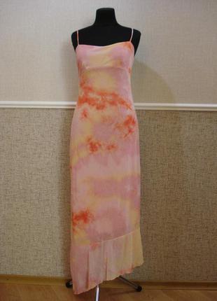 Вечернее облегающее платье в пол