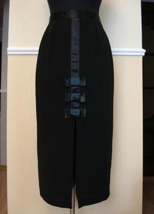 Классическая юбка карандаш в пол
