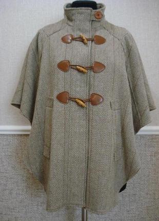 Дафлкот женский пальто без рукавов манто